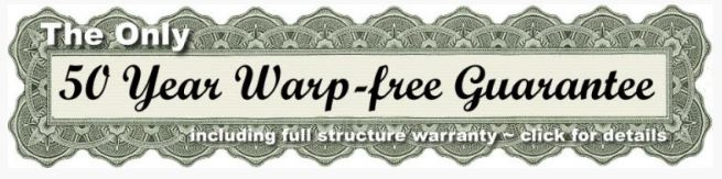 50 year warp free guarantee