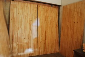 Large Custom Pivot Door