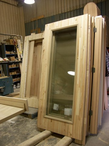 Insulated Sing Honeycomb french door, ready to assemble