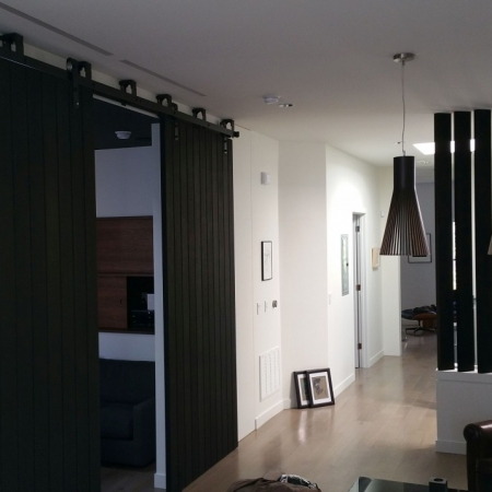 Black oak sliding doors large pivot door sing core