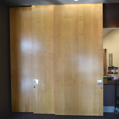 Alder Door Skin large pivot door sing core