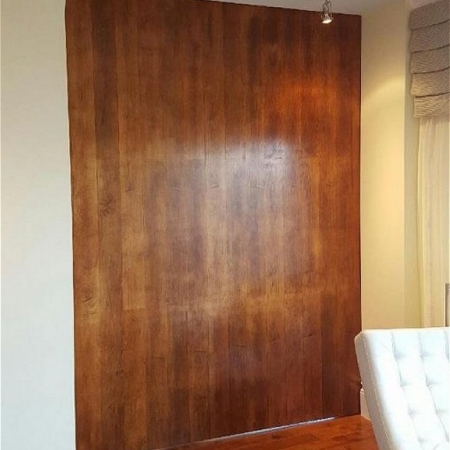 Maple door skin large pivot door sing core