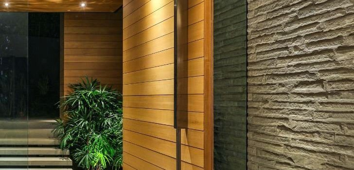 Large Pivot Doors Large Custom Pivot Door Warp Free Wooden Pivot Door Weatherproof Insulated