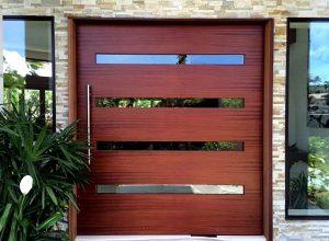 Large Pivot Door