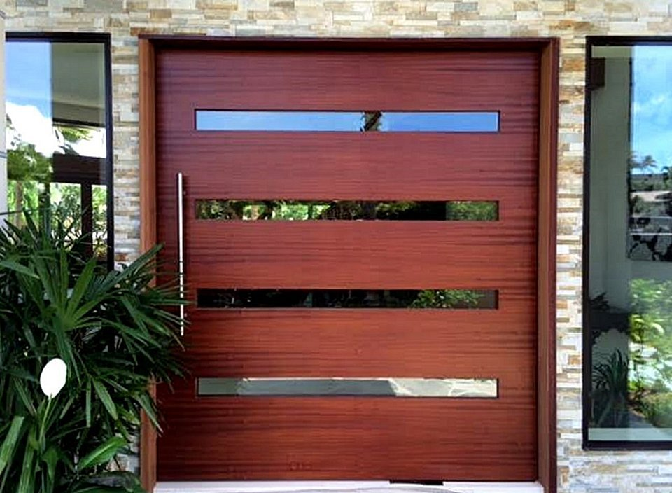 Large Pivot Door