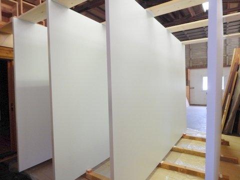 Large Pivot Door Fiberglass Skin
