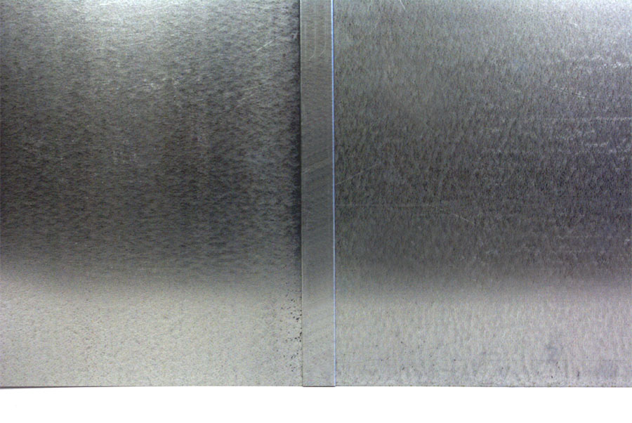 Large Pivot Door Galvanized Steel Skin